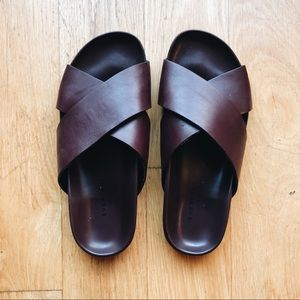 Everlane Form Crossover Sandals – worm once!